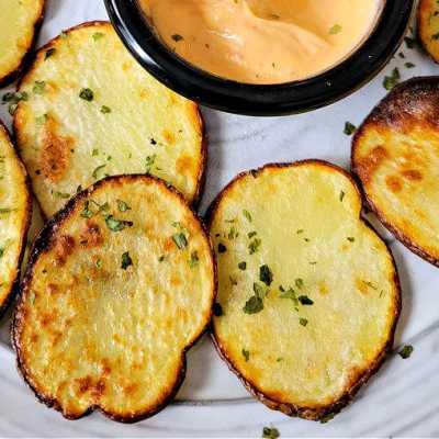 Air Fryer Crispy potato chips