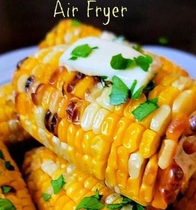 Easy Air Fryer Corn on the Cob Recipe