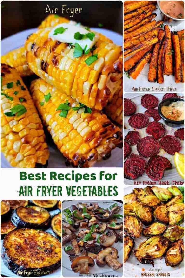 13 Best Recipes for Air fryer Vegetables