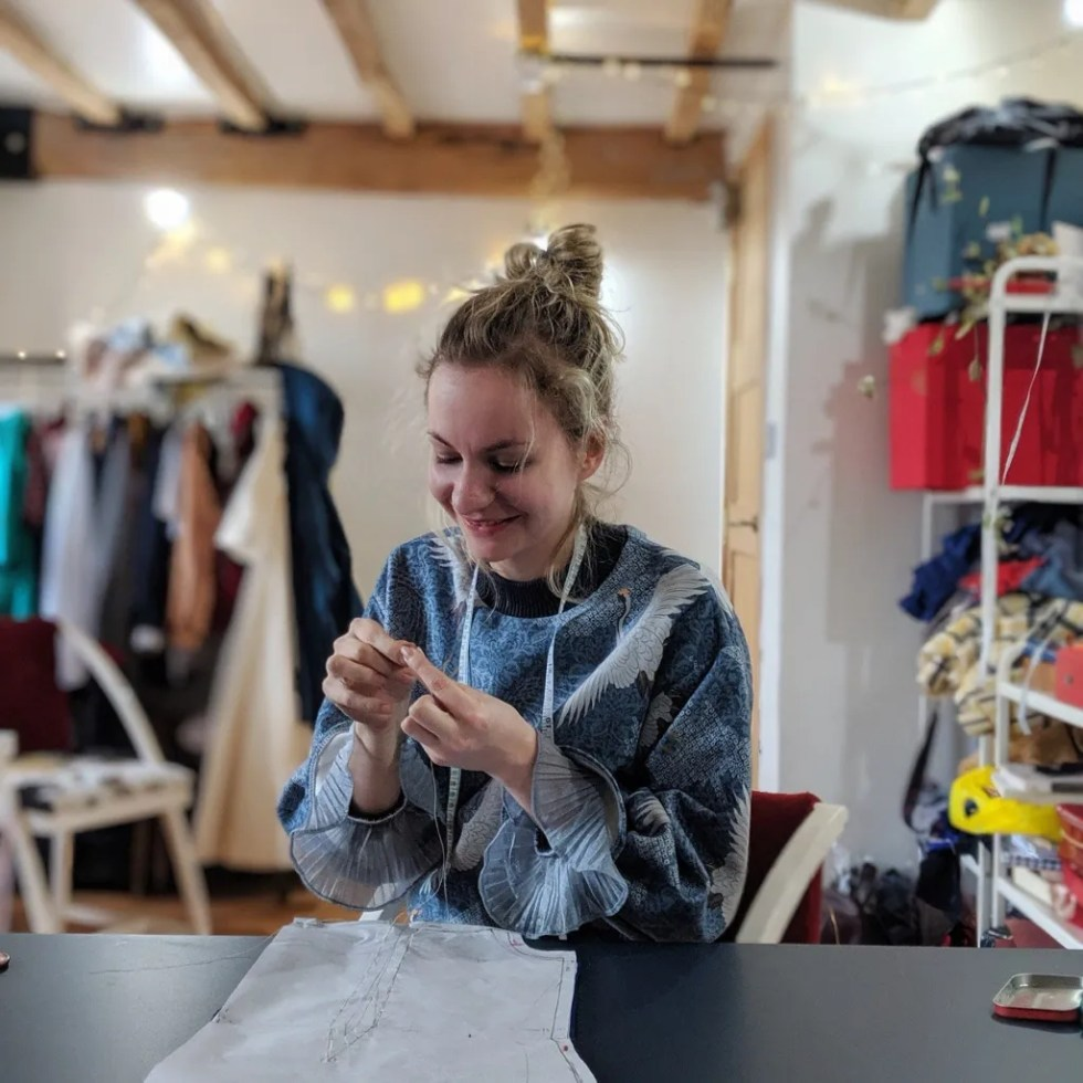 About us circular fashion sustainable clothing daines atelier