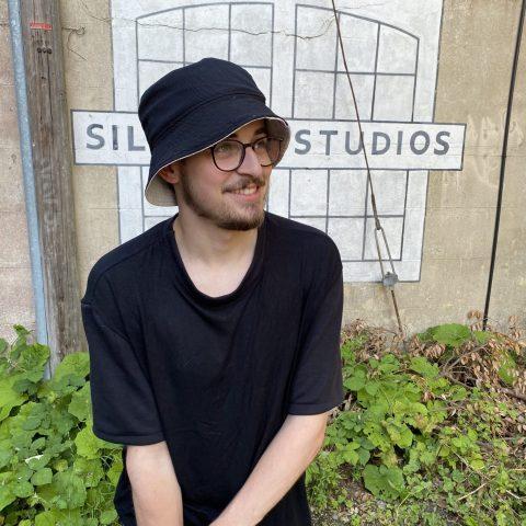 Black Bucket Hat shot on Jordan Law