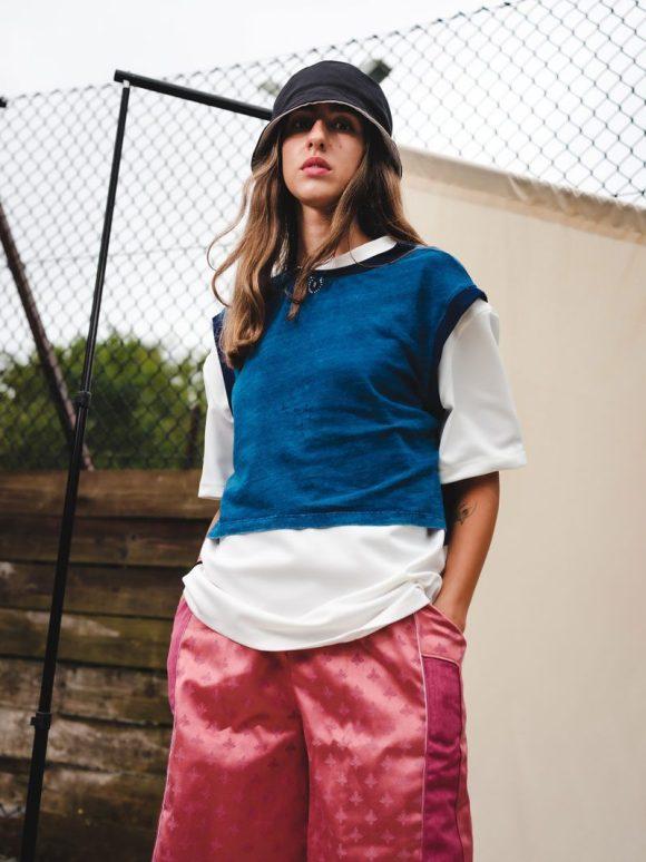 oversized vest streetwear sustainable streetwear