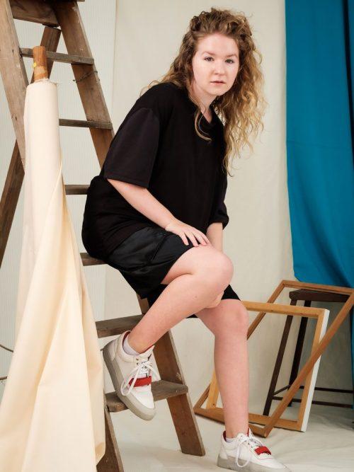 Oversized T-Shirt edgy streetwear unisex fashion sustainable circular fashion brand