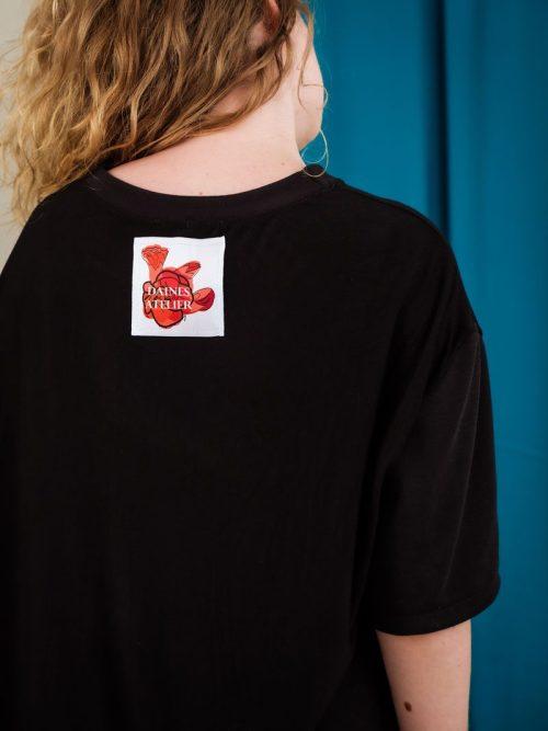 Daines Atelier oversized Tee deadstock material unisex streetwear
