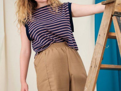 oversized vest sustainable fashion edgy comfortable clothing