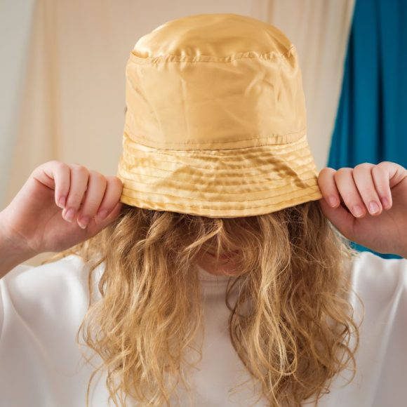 Festival Bucket Hat Rave Outifts Gold