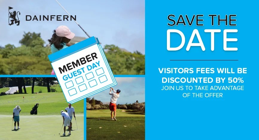 MEMBER GUEST DAY: 6 OCTOBER 2017