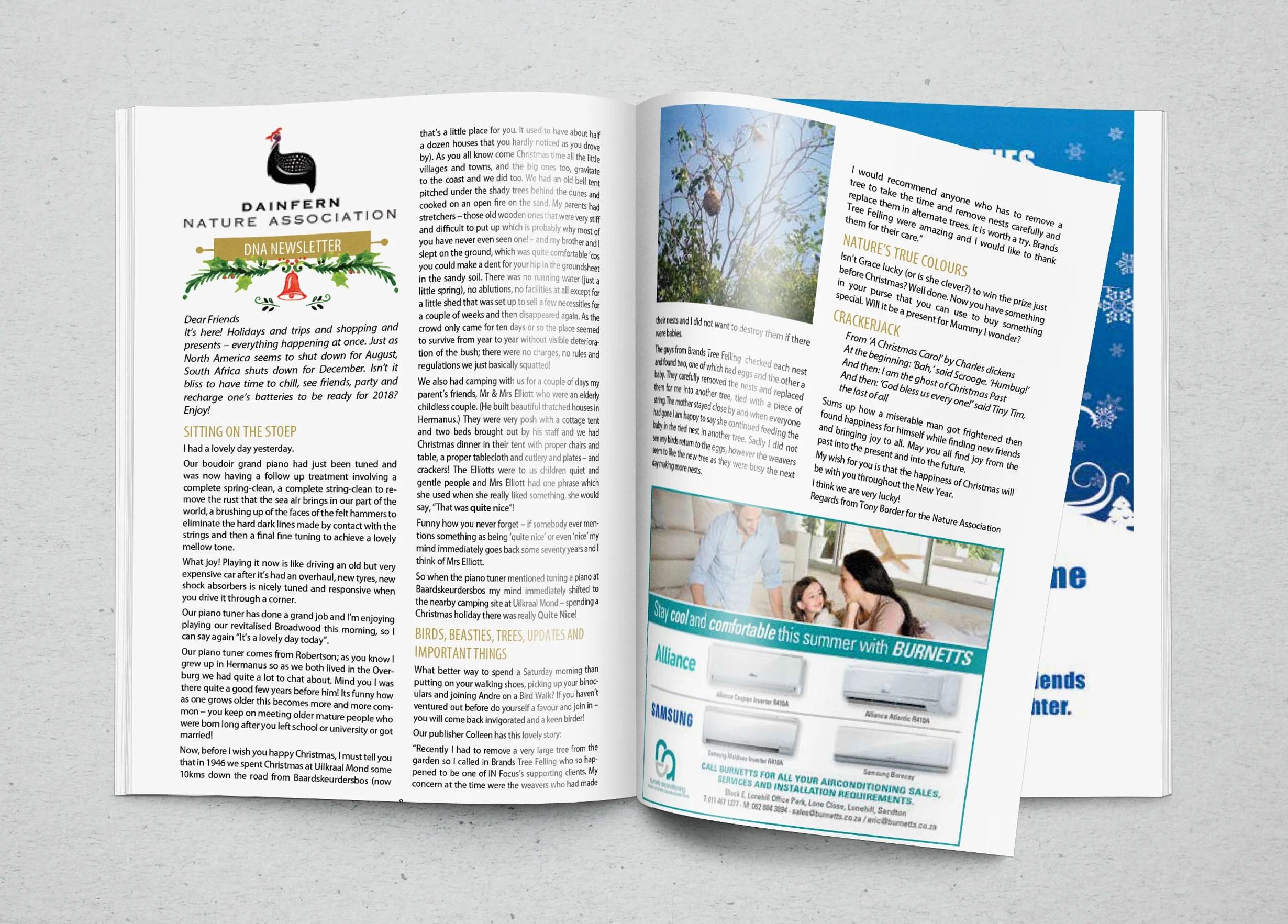 Infocus your community magazine – Dainfern Nature Association December 2017