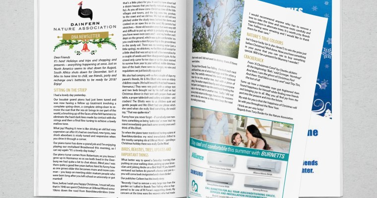 Infocus your community magazine – Dainfern Nature Association December 2017