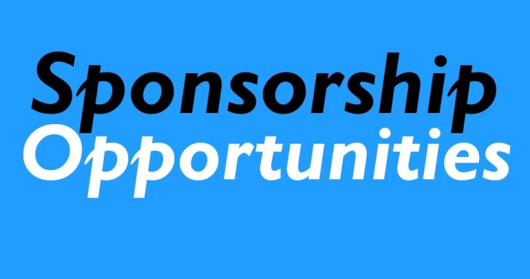 SPONSORSHIP OPPORTUNITIES FOR 2018