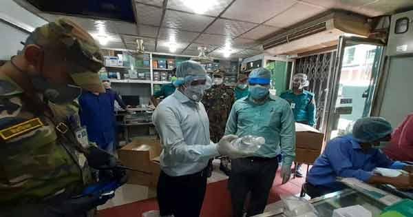 চট্টগ্রামে চিকিৎসাসামগ্রী জব্দ, ৮২হাজার টাকা জরিমানা