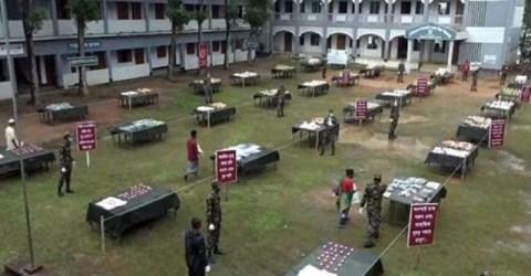 সেনাবাহিনীর ভিন্নধর্মী কর্মসূচি 'এক মিনিটের বাজার'