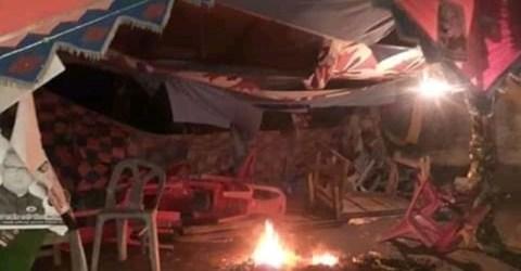আত্রাইয়ে আওয়ামী লীগের নির্বাচনী অফিসে অগ্নি সংযোগ : আটক-২