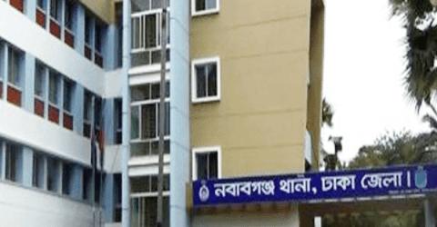 নবাবগঞ্জ থানা হাজতের টয়লেটে আসামির ঝুলন্ত লাশ