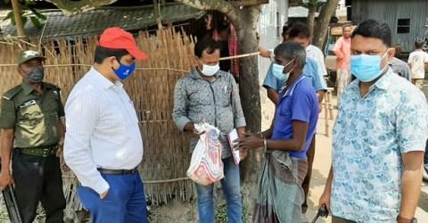 গৌরীপুরে ভ্রাম্যমান আদালতে গাঁজা ব্যবসায়ীকে দন্ড