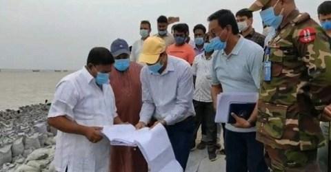 'নকশার ত্রুটির কারণেই সিরাজগঞ্জ শহর রক্ষা বাঁধে বারবার ধস'