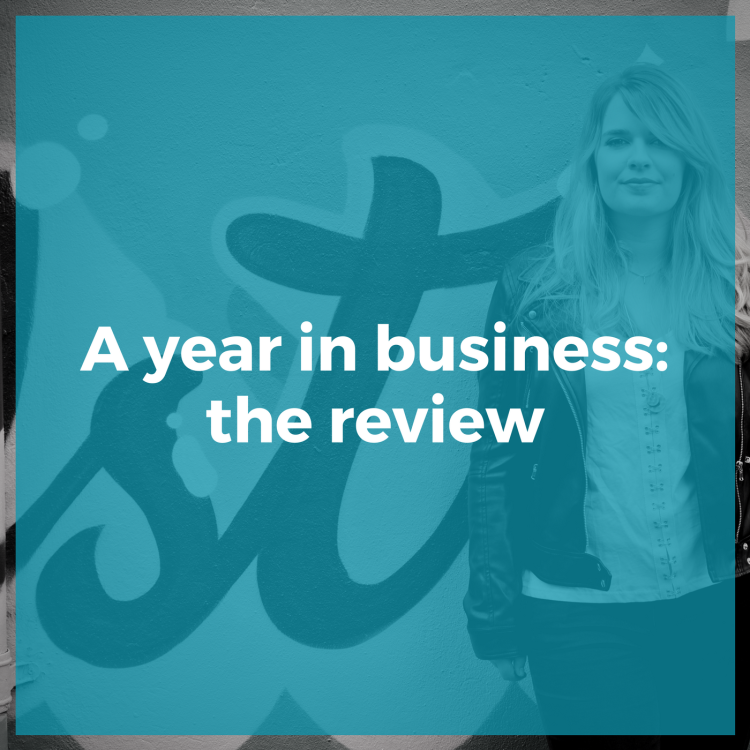 A year in business: the review