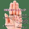 【手相紋占い⑥-2】手のひらの掌線上に井の字のようなスクエア(四角紋)がある手相