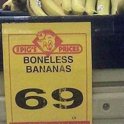 Boneless Bananas, Hormone Free Milk & Other BS.  #BSLabels