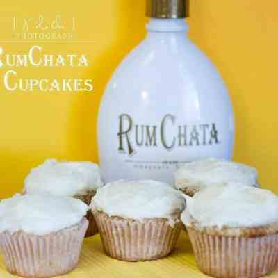Rumchata Cupcakes meets My Drunk North Dakota Kitchen.