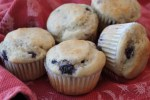 Egg free, dairy free blueberry muffin recipe