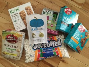 allergy free hiking snacks