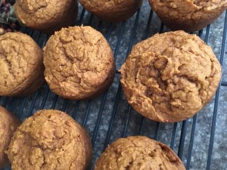 Egg-free, dairy-free, nut-free Pumpkin Muffins