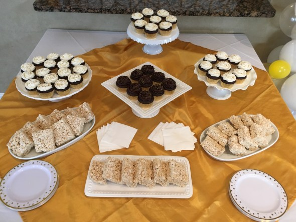 Dairy Egg and Nut Free Dessert Table