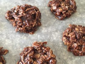 Dairy Free Chocolate No Bake Cookies