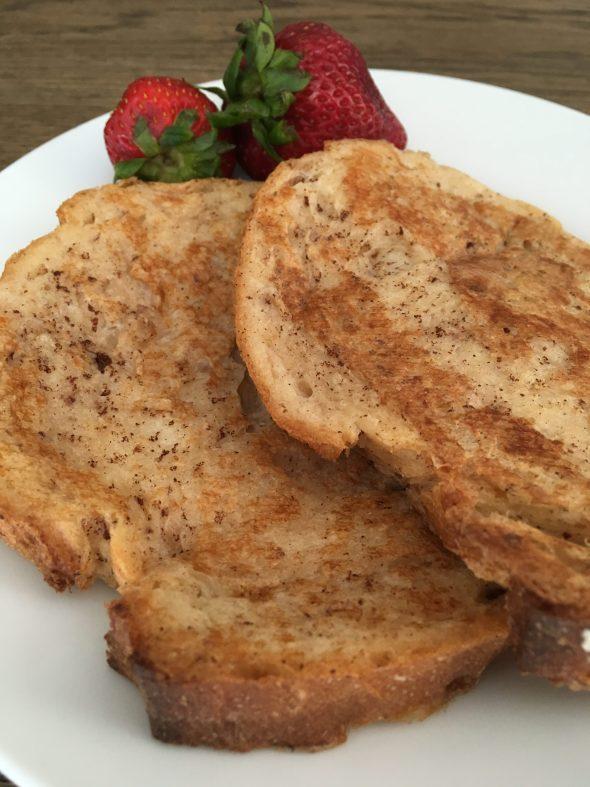 Egg Free French Toast