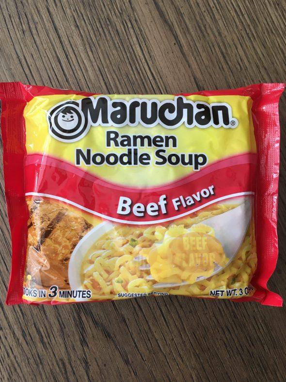Egg Free Maruchan Ramen Noodles