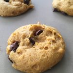 Egg Free, Dairy Free Pumpkin Chocolate Chip Cookie