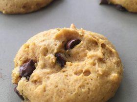 Egg Free, Dairy Free Pumpkin Chocolate Chip Cookie