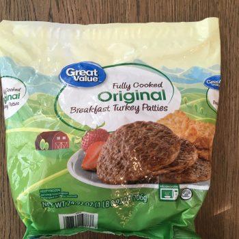 Turkey Breakfast Sausage Patties