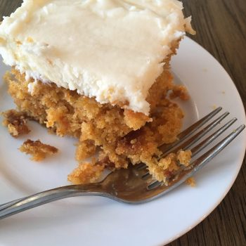 Carrot Cake (Dairy, Egg and Nut Free)
