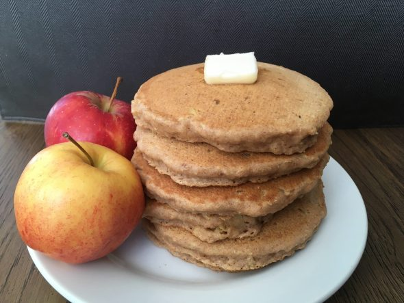 Whole Grain Apple Cinnamon Pancake recipe