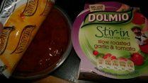 Stir in sauce