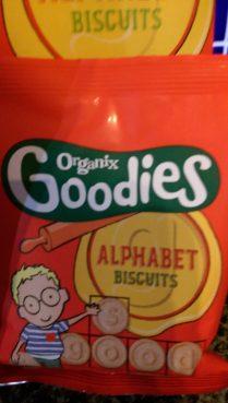 Goodies Alphabet Biscuits