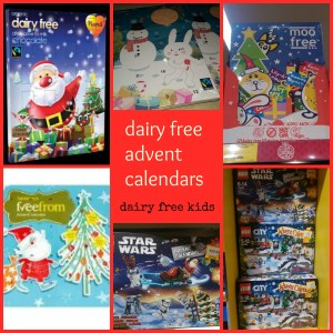 dairy free advent calendars