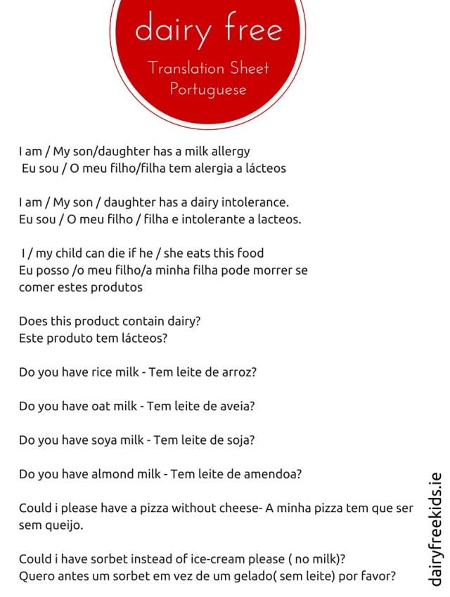 allergy-sheet-portuguese