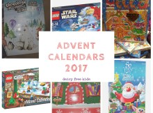 Dairy Free Advent Calendars 2017