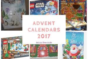 Dairy Free Advent Calendars 2017