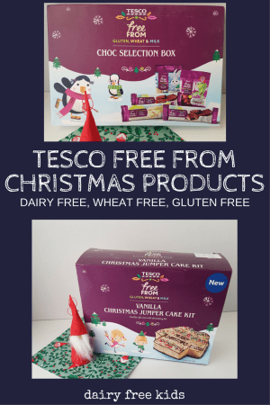 Free From Christmas Range Tesco