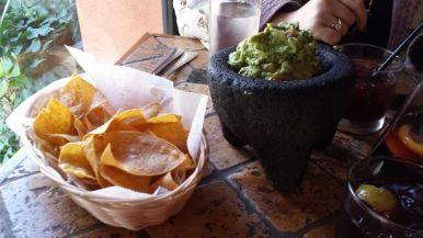 El Paso Restaurant - Guacamole and handmade chips