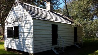Slave quarters at Magnolia Plantation