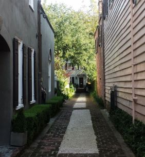 Alley to private home, Charleston, SC