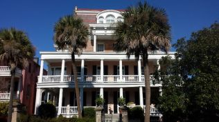 Grand home in historic district, Charleston, SC