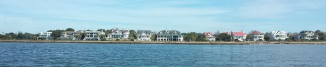 Mt Pleasant's Beachfront Houses