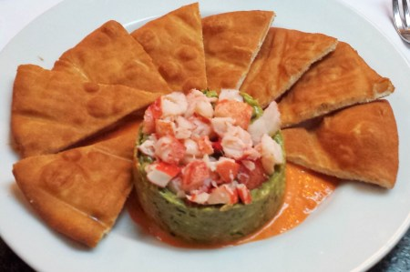 Lobster Dip with Pita Chips