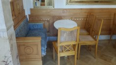 Confectionery Room Seating Area